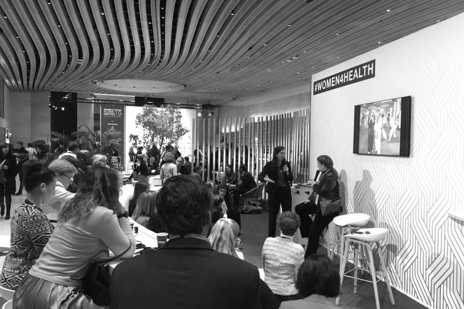 22/11/2019 - Participation au Women's Forum Global Meeting à Paris