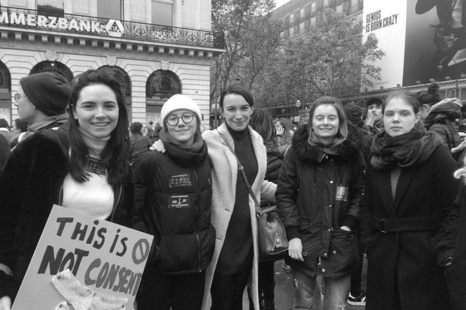 08/03/2020 - Marche pour la Journée Internationale des Droits des Femmes à Paris